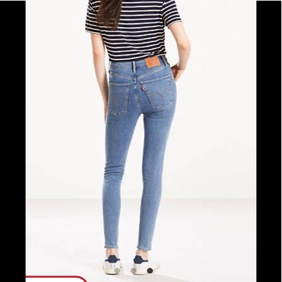 06859700 Levi's Jeans | Levis Mile High Super Skinny In Castaway | Poshmark